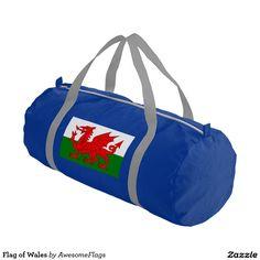 Flag of Wales Gym Duffel Bag
