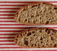Špaldovo-pšeničný celozrnný chléb | Maškrtnica Home Baking, Russian Recipes, Ciabatta, Sourdough Bread, How To Make Bread, Bread Baking, Baked Goods, Bread Recipes, Side Dishes