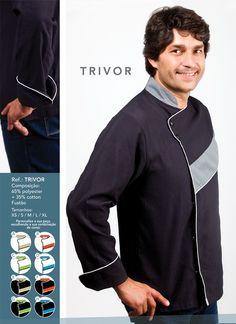 Jaleca Trivor/Trivor chef coat