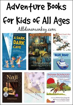 Explore the world with your kids and let their imaginations soar with these wonderful adventure books for kids of all ages.