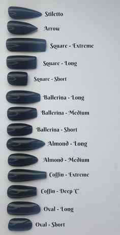 Acrylic Nails Coffin Short, Best Acrylic Nails, Acrylic Nail Designs, Simple Acrylic Nails, Shapes Of Acrylic Nails, Designs On Nails, Different Acrylic Nail Shapes, Painted Acrylic Nails, Colourful Acrylic Nails