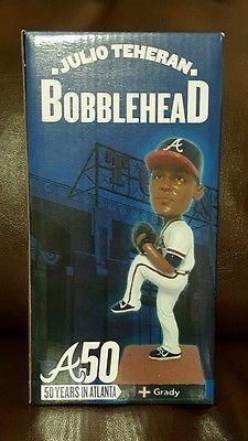 Julio Teheran Bobblehead Atlanta Braves 9/10/15 GRADY New In Box