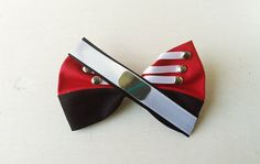 Boston Crusaders Bow by BowMelodies on Etsy  For Felix Nathaniel to wear at dci southwestern or rehearsal