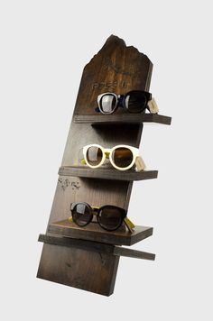 Fossil Collapsible Sunglasses Display on Behance