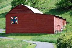 Quilt Barn Trails Photo Gallery: McIntosh Star Barn Quilt Block