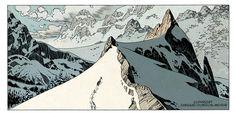 The way I like comics! • Panel for ASGARD II, by Ralph Meyer.