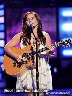 "Skylar Laine sings ""Tattoos On This Town"" by Jason Aldean, #American Idol Season 11, Top 6"