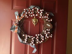 'Bama wreath!