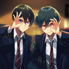 These two need to bypass Hiyori somehow so they can talk and figure their shit out. I want them to swim together.