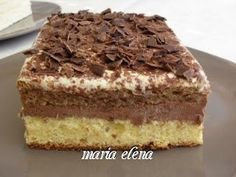 Summer Desserts, No Bake Desserts, Easy Desserts, Delicious Desserts, Romanian Desserts, Romanian Food, Romanian Recipes, Sweet Recipes, Cake Recipes