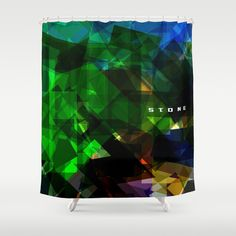 STONE Shower Curtain by SEVENTRAPS | Society6