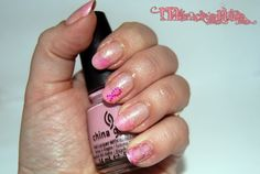 Breast cancer awareness nails 2013