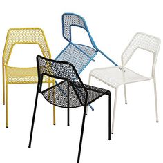 Hot Mesh Chairs by @bludot at Lumens.com