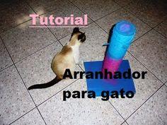 Tutorial - arranhador de cordel para gato - YouTube