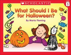 """The question on every kids' mind this month is """"What Should I Be for Halloween?"""" After reading, have students describe their favorite costume!"""
