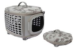 Iconic Pet Deluxe Retreat Foldable Pet House, Light Grey Printing * Check out this great product. (This is an Amazon affiliate link)