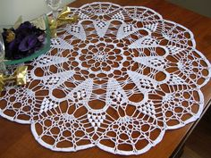 easter crochet round doily lace placemat tablecloth centerpiece napperon white cotton home wedding decor unique birthday gift for mom Crochet Stitches Patterns, Doily Patterns, Crochet Motif, Crochet Lace, Stitch Patterns, Crochet Dollies, Easter Crochet, Crochet Round, Xmas Tablecloths