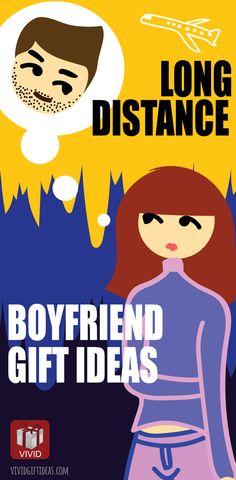 Long Distance Relationship Gift Ideas #Christmas #boyfriend