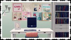 6 Pottery Barn Teen inspired bulletin boards by sugarberrysims - Sims 3 Downloads CC Caboodle