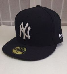 New York Yankees MLB Hat Mickey Mantle 59 Fifty Commemorative Cap Size 7 5/8 #NewEra #NewYorkYankees #MickeyMantle #LYLACS4U  http://stores.ebay.com/LYLACS-4U?_rdc=1