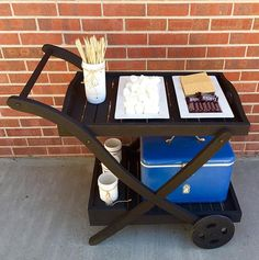 Craigslist Creation turned into S'mores Station! - Update 10/12 | Handmade With La~La~Love |