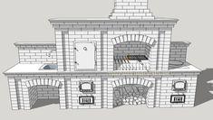 Проекты барбекю мангалов из кирпича с казаном в беседке   Печных дел Мастер Bbq Grill, Grilling, Floor Plans, Bar Grill, Barbecue, Crickets, Floor Plan Drawing, House Floor Plans