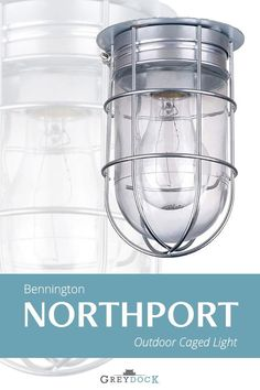 Bennington Northport All Weather Wall Barn Ceiling Exterior Light with Cage – Residential Lighting Dim Lighting, Barn Lighting, Exterior Lighting, Lighting Design, Lighting Ideas, Vintage Industrial Lighting, Industrial Light Fixtures, Cage Light, Residential Lighting