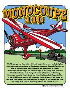 Monocoupe 110 colored image