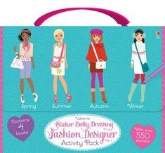 50 Best Sticker Dolly Dressing From Usborne Images Dolly Dress Usborne Usborne Books