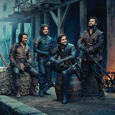 Not Period Accurate Musketeers costuming