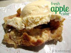 Simplicity -  A. Liz Adventures: Fresh Apple Cake
