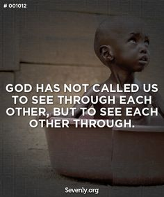 Let´s pray for all sick and hungry kids around the world... God bless you.