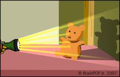 BrainPOP Jr. | Light | Lesson Ideas shadow experiment www.brainpopjr.com/science/energy/light/grownups.weml#