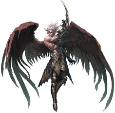 View an image titled 'Kamael Male Final Form Art' in our Lineage II art gallery featuring official character designs, concept art, and promo pictures. Game Character Design, Character Concept, Character Art, Concept Art, Fantasy Male, Dark Fantasy, Fantasy Inspiration, Character Inspiration, Angel Warrior