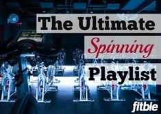 Ready to ride to the rhythm? We've got the ultimate spin set to crank up your cadence. | Fitbie.com