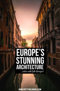 Europe certainly should be on your next travel destination bucket list. Not only this continent is soaring with tons of beautiful things to see but also filled with interesting culture. via @prettywildworld