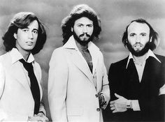 Left - Robin Gibb, from the Bee Gees died on 20 may '12. Songs: How deep is your love, words, tragedy, Massachusetts, stayin' alive ... What's your favourite song?