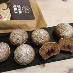 Fahéjas-quinoa muffin 6db Quinoa Muffins, Bread, Food, Eten, Bakeries, Meals, Breads, Diet