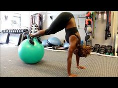 Core Exercise: Swiss Ball Pike