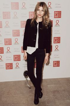Clemence Poesy poses as she arrives to attend the Sidaction Gala Dinner 2013 at Pavillon d'Armenonville on January 24, 2013 in Paris, France.