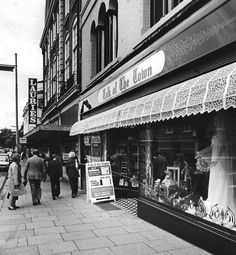 Talk of the Town, and Laurie & McConnell shops Fitzroy Street Cambridge England, Honeymoon Night, Old Photos, Shops, Change, History, Live, Street, World