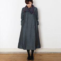 [Envelope online shop] Sabine Lisette Dresses。 100% linen