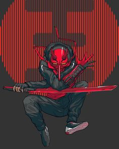 --- Character design & color by me Lineart by Fantasy Character Design, Character Design Inspiration, Character Art, Character Concept, Arte Ninja, Ninja Art, Arte Dope, Dope Art, Urban Samurai