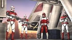 Coruscant Guard / Shock Troopers SFM] by SucculentSoldier on DeviantArt Clone Trooper Helmet, Capital Ship, Galactic Republic, Lord, Red Team, The Old Republic, Star Wars Clone Wars, Star Trek, The Expendables