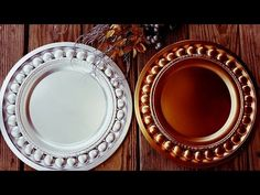 Create Stunning Holiday Charger Plates