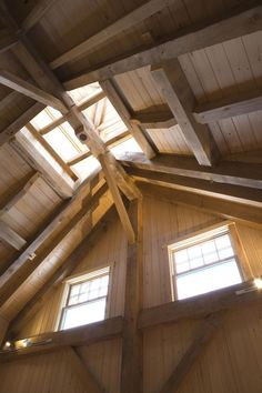 Strong Timber Frame Home and Barn from Sweet Timber Frame, in Mount Desert, Maine http://www.sweettimberframes.com/maine-timber-frames/images/timber-frame-home-and-barn?utm_content=buffere3450&utm_medium=social&utm_source=pinterest.com&utm_campaign=buffer