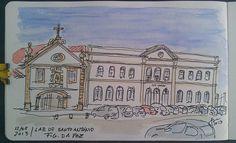 Igreja e Lar de Santo António - Fig. da Foz