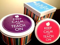 The Green Classroom: Keep Calm and Teach on Recycling Craft & Giveaway