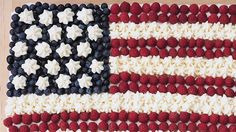 Flag cake patriotic independence day fourth of july Fourth Of July Drinks, Fourth Of July Cakes, 4th Of July Desserts, 4th Of July Party, July 4th, Patriotic Party, 4th Of July Photography, Flag Cake, Frozen