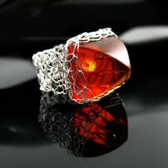 Faux amber ring #2 by CatsWire.deviantart.com on @DeviantArt